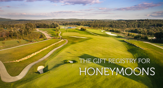 Nemacolin Woodlands Resort | The Gift Registry For Honeymoons
